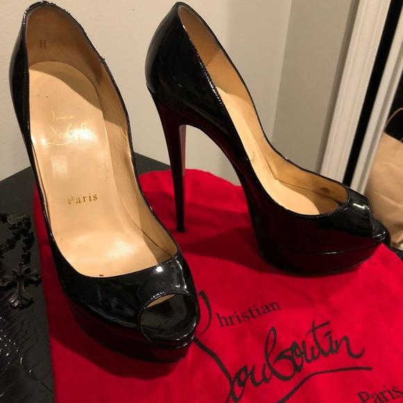9286482b5c2e Christian Louboutin Shoes - Christian Louboutin Lady Peep